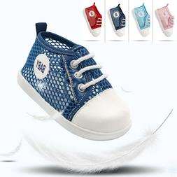 Cute Red Infant Girls Sneakers Shoes Booties Boots Walking S