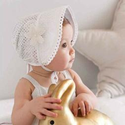 Cute Toddlers Baby Girls Flower Princess Sun Hat Cap Summer