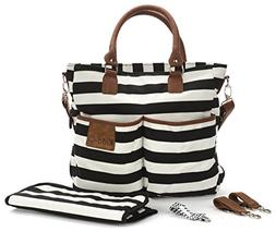 Diaper Bag for Baby Boys and Girls - Mom Purse and Tote Orga