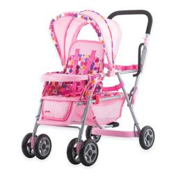 doll toy caboose stroller pink girls boys