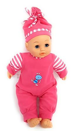 """""""Sweet Baby Girl"""" Doll Washable Soft Body Play Toy Gift 11-i"""