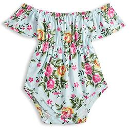 a51840a3c BFUSTYLE Floral Rose Printing Romper Western Baby Girl Bodys