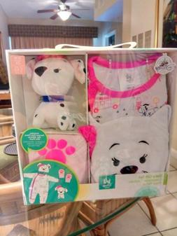Disney baby girl dalmatian gift set