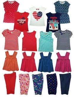 girls baby and toddler summer t outfits