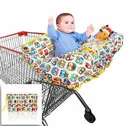 Grocery and Shopping Cart Cover by Croc N Frog - Highchair C