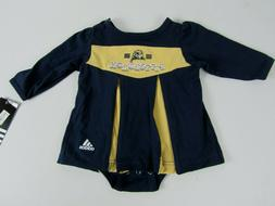 Infant/Baby Girls 6-9 mo Pittsburgh Steelers Adidas Dress Ou
