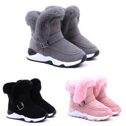 Infant Baby Toddler Winter Warm Snow Boots Kid Boy Girl Snea
