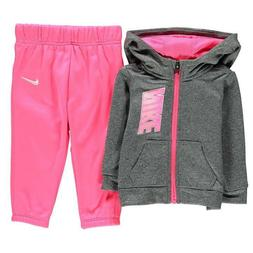 infant girls full zip tracksuit children baby