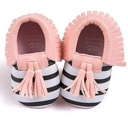 2d2922f74d7 Editorial Pick Voberry Infant Toddlers Baby Boys Girls Soft Soled Tassel Cr