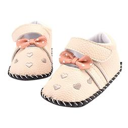 Voberry Infant Toddlers Baby Girls Soft Soled Embroidered Cr
