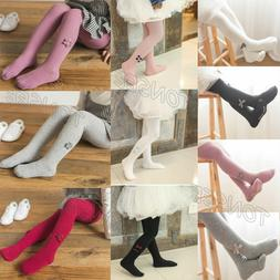 InfantBaby Kid Girl Bow Stockings Panty Hose Pant Socks Wint