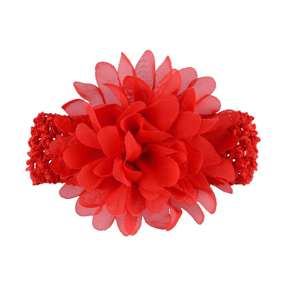 18pcs 4.5 Inch Flower Bows Baby Girls