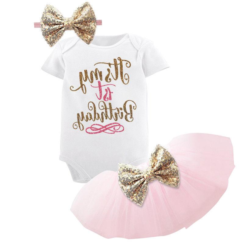 1st birthday party outfits tutu baby girl