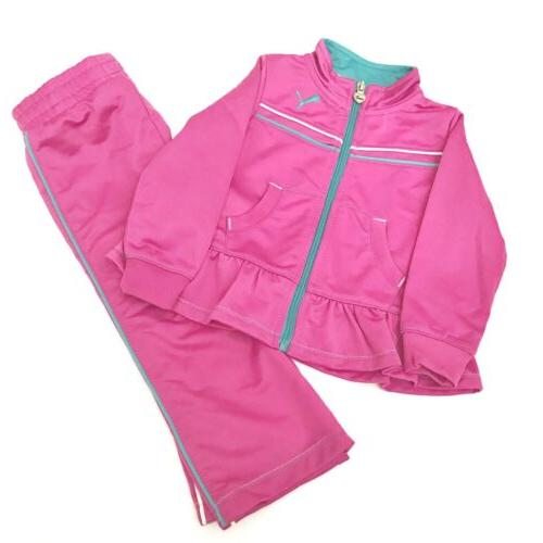 2 piece tracksuit baby girls toddler size