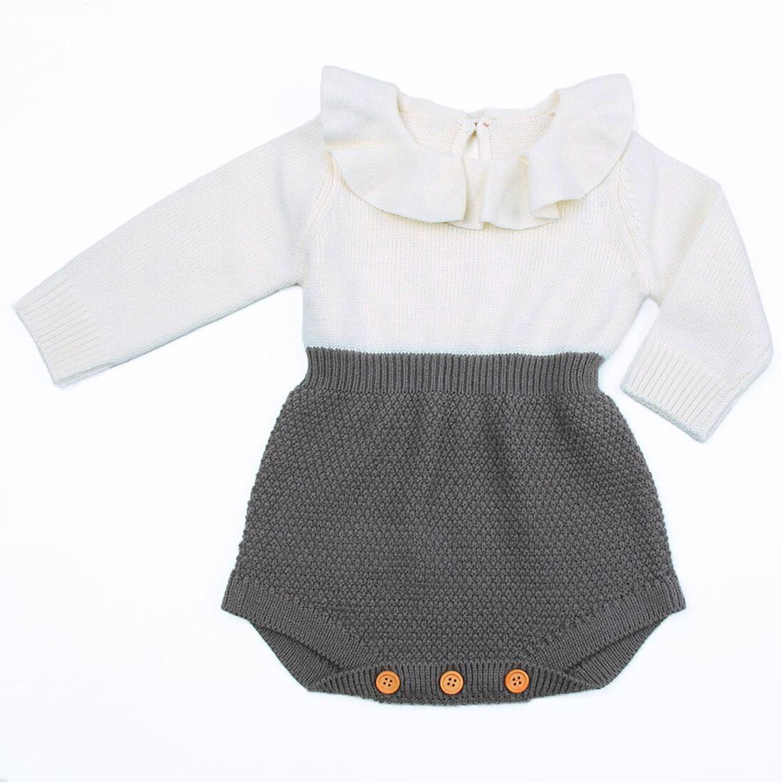 2019 Autumn Winter <font><b>Baby</b></font> Clothes Toddler <font><b>Girl</b></font> Sweaters Wool Knitting Outfits