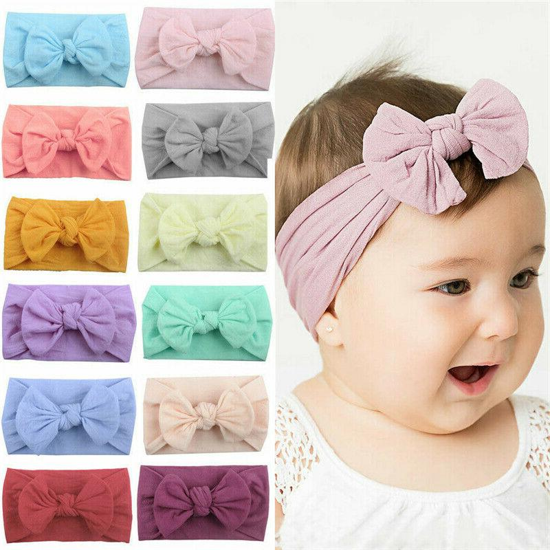 2019 Baby Girl Knit Turban Top Knot Accessories