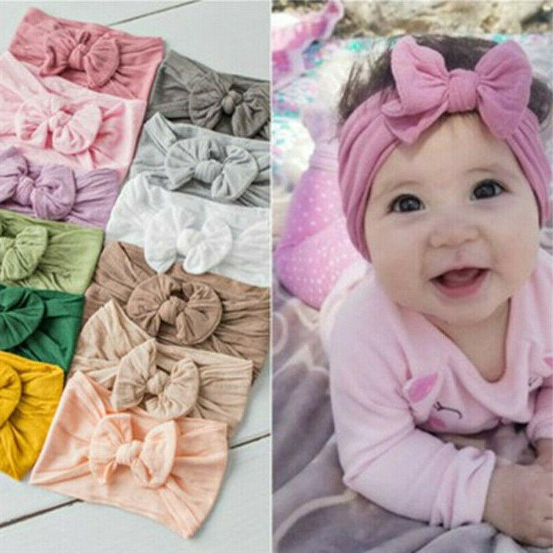 2019 Baby Cable Knit Top Knot Headband Accessories
