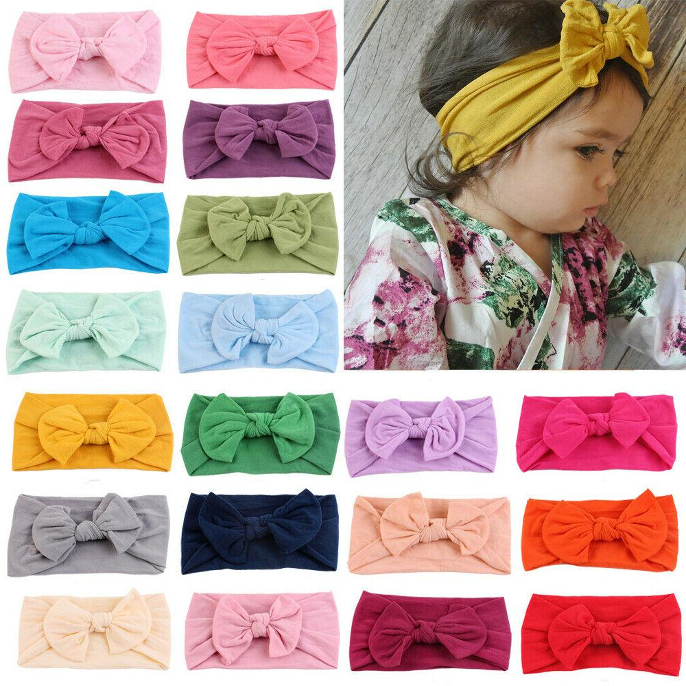 2019 baby girl cable knit nylon bow