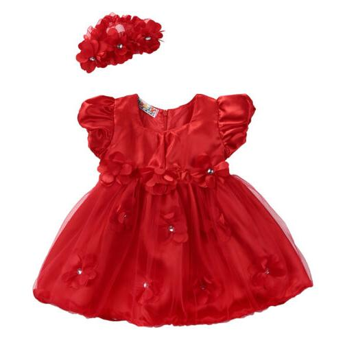Princess Party Prom Birthday Dresses For Girl 0-3Y