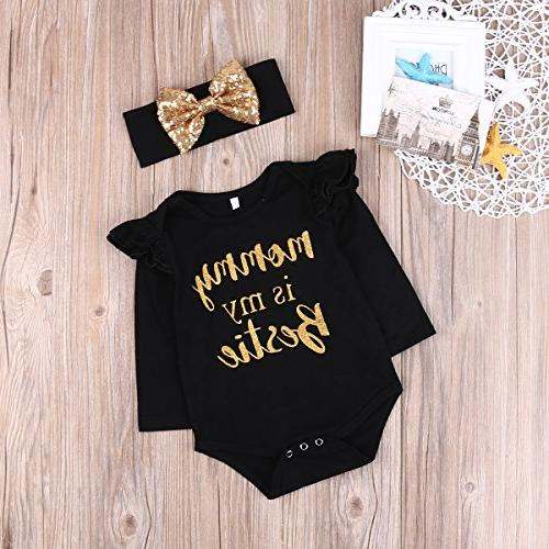 "Newborn Floral ""Mommy is Bestie"""