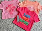 New Balance Active Girls Toddler Baby 12 months T Shirts Set