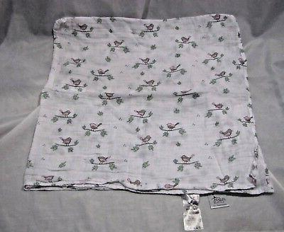 ADEN & AND ANAIS BABY GIRL BLANKET SWADDLEPLUS MUSLIN GRAY P
