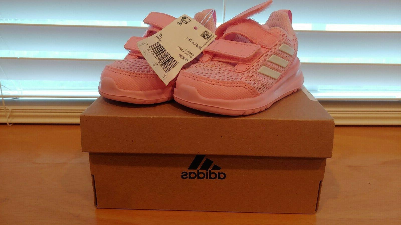 altarun baby icey pink sneakers size 5k