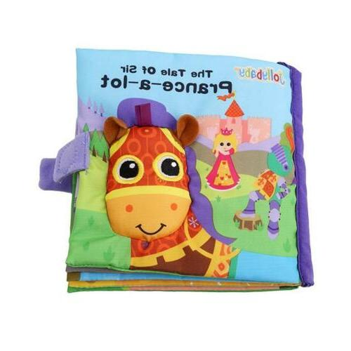 Animal Cloth Book Intelligence Development Toy Bed Cognize B