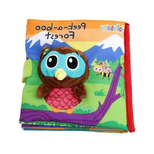 animal cloth book infant kid intelligence development