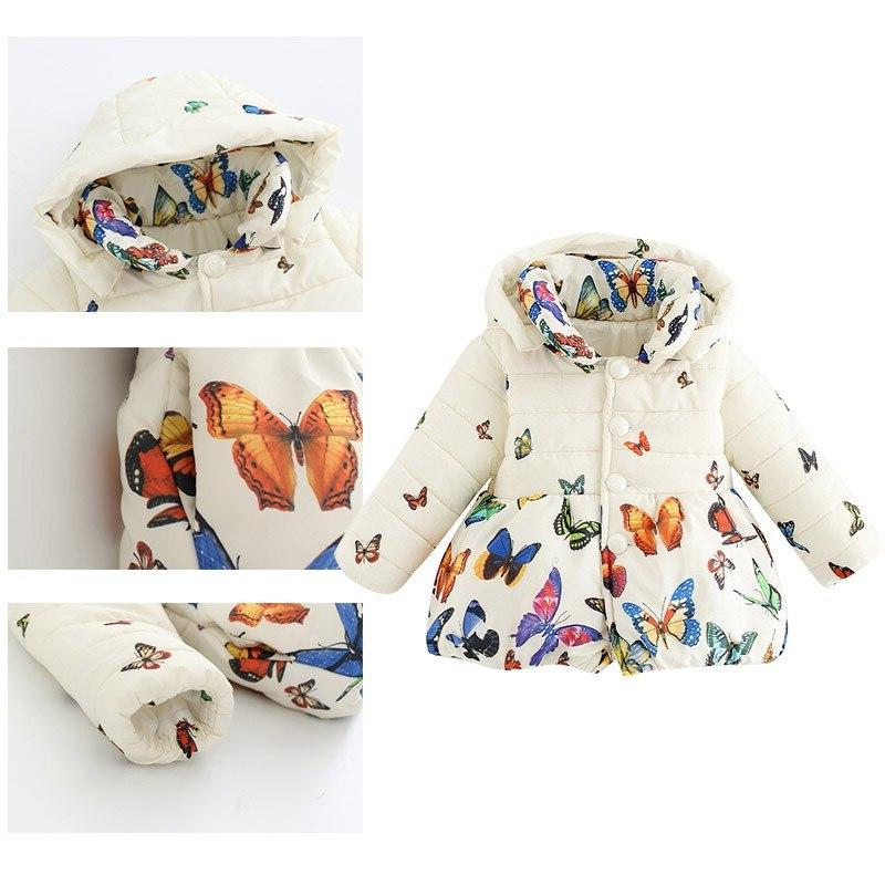 Autumn 0-24Month <font><b>Girls</b></font> Cotton Sleeve Solid Color Pattern Outwear