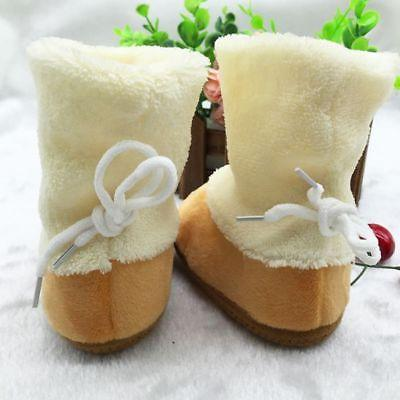 Baby Boys Girls Slippers Infant Snow Boots Warm Cotton Shoes