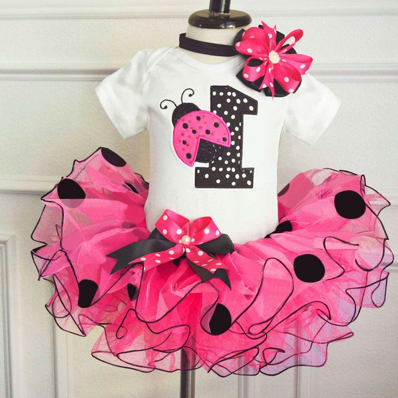 1st birthday baby girl dress outfits dots