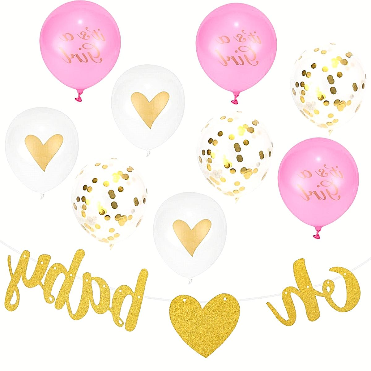 baby girl baby shower party supplies decorations