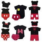 baby girl boy romper minnie mouse halloween