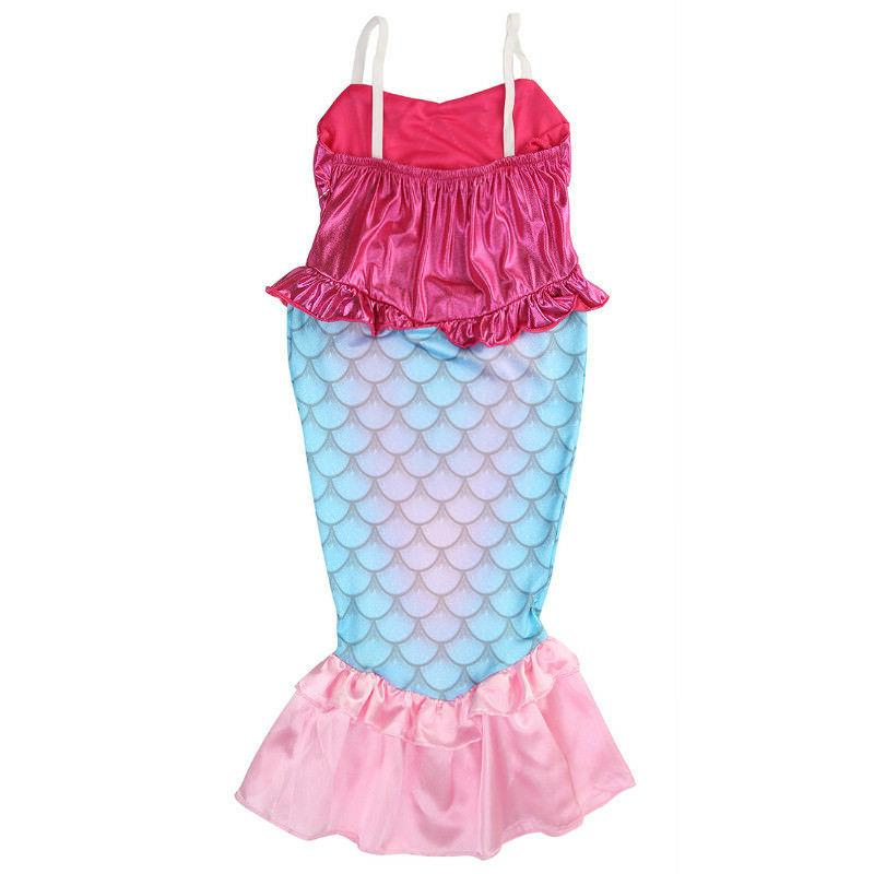 Baby Girl Clothes The Little Mermaid Ariel Kids Dress Prince