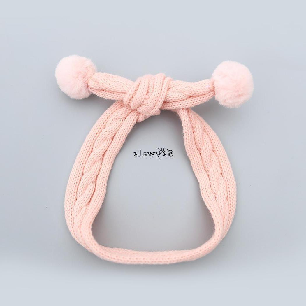 Baby Girl Knit pom Toddler Newborn Accesory SK