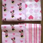 Disney Baby Girl Minnie Mouse cotton Flannel swaddle receivi