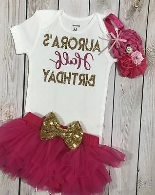 Baby girl clothes, month birthday baby girl, girls' six