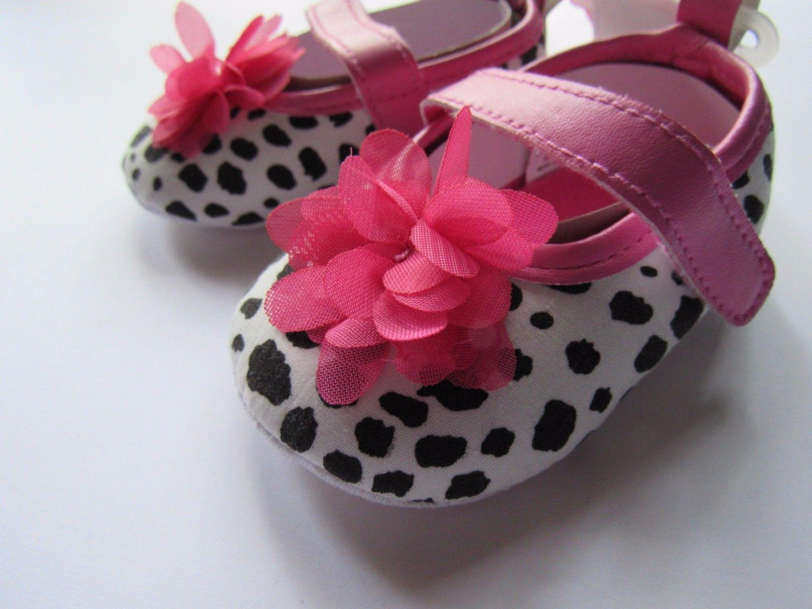 Luvable Friends Baby Girl Slip-On Pink Mary Shoe