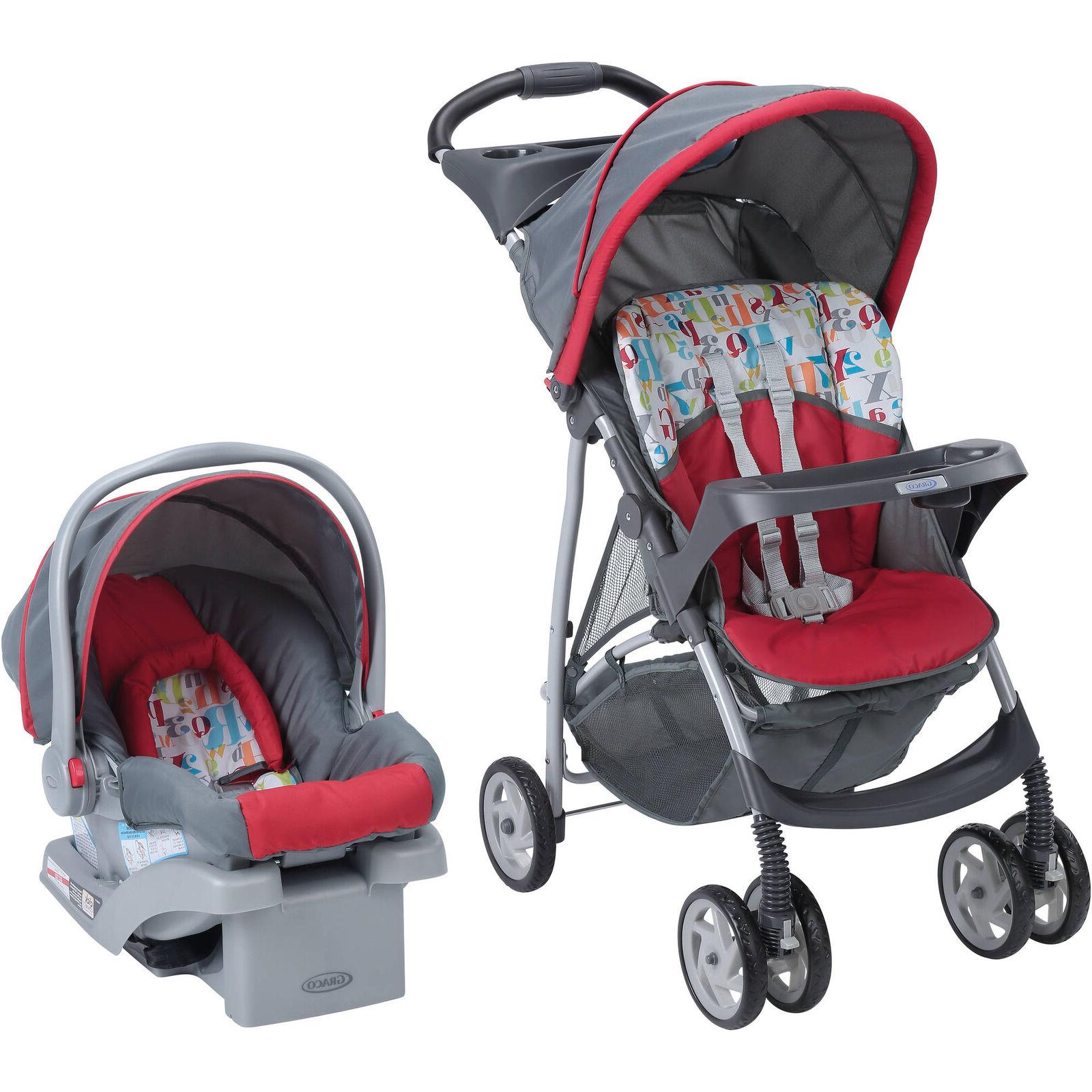 Baby Girl Travel System Stroller Boys Kids Children Car Seat
