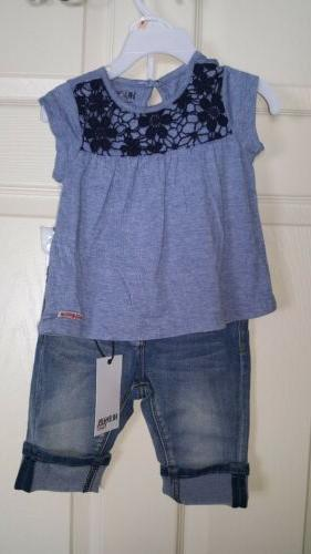 baby girls 2 piece outfit 2t nwt