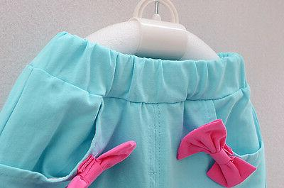 baby Girls clothes summer vest pants