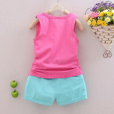 baby Girls clothes summer pants kids girl outfits cartoon