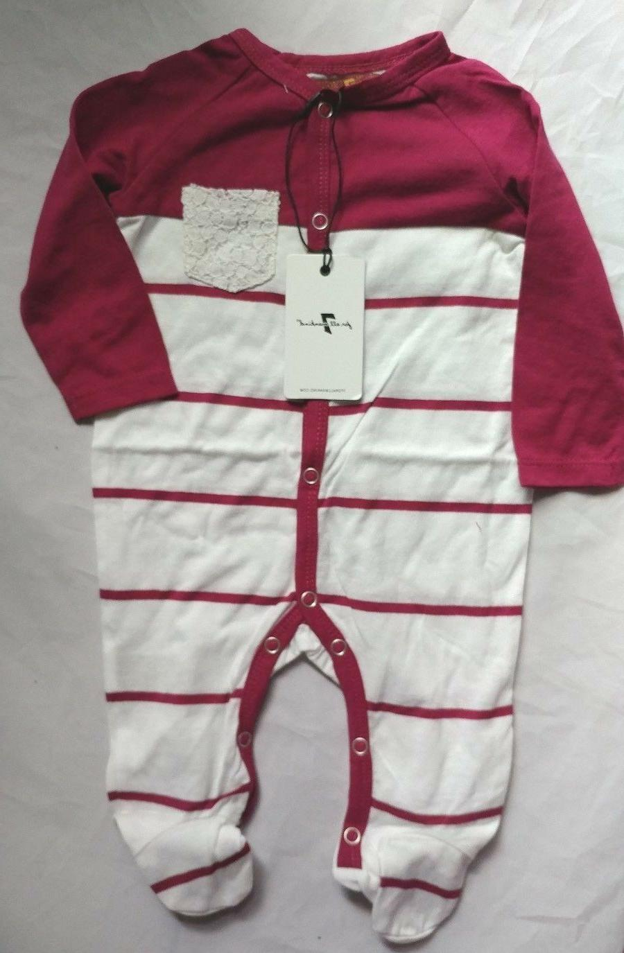 7 For Baby Girls White Lace Pocket Piece Outfit NEW