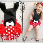 Baby Girls Romper Minnie Mouse Halloween Costume Sleeveless