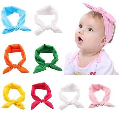 baby headbands turban knotted girl s bow