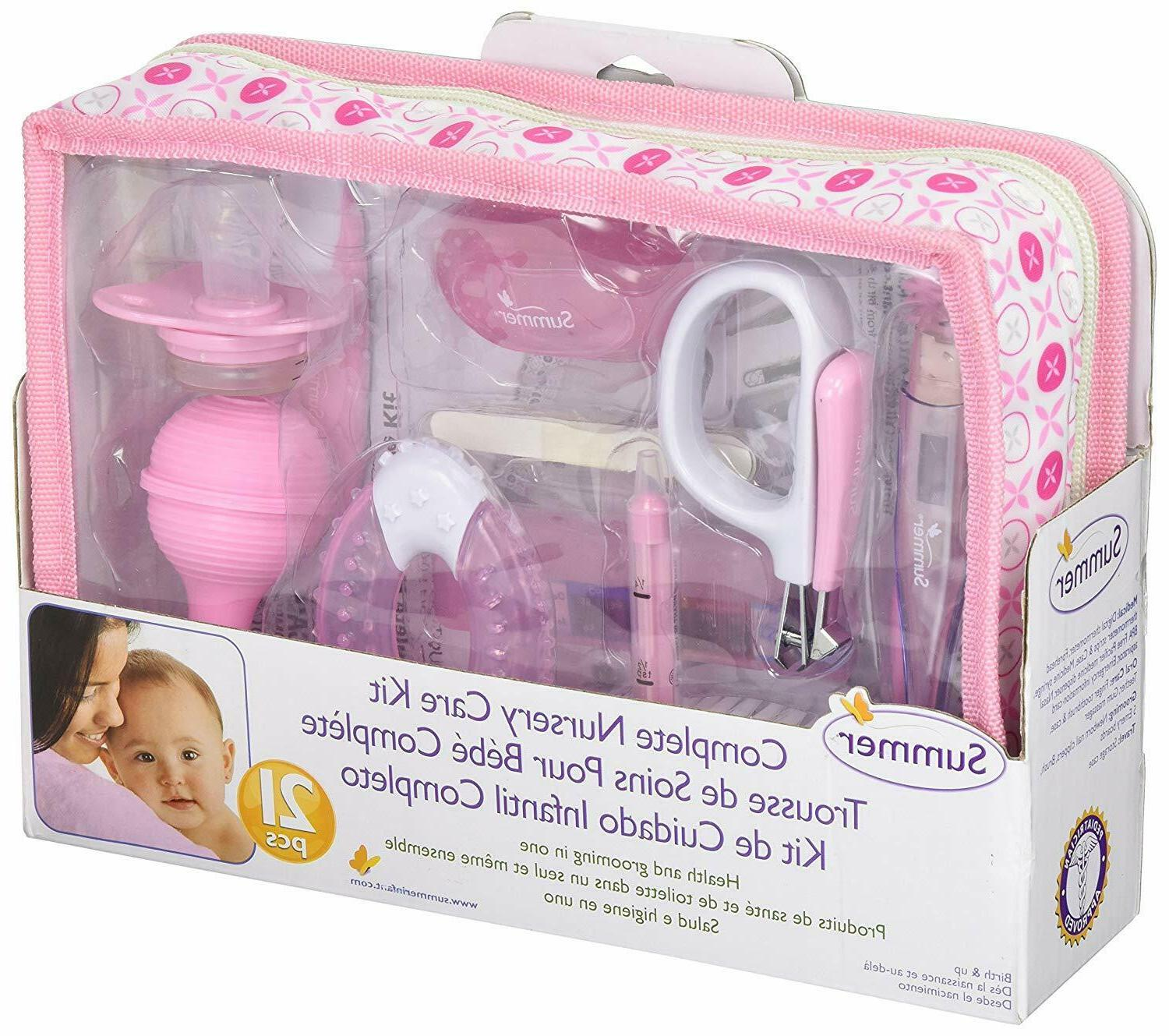 Baby Health Care Grooming Kit for Girls Storage Case Baby Es