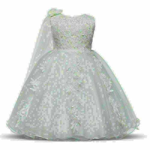 Baby Girls Dresses Tulle Floral