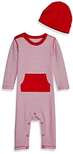 Moon and Back Baby Organic Long-Sleeve One-Piece Pocket Cove