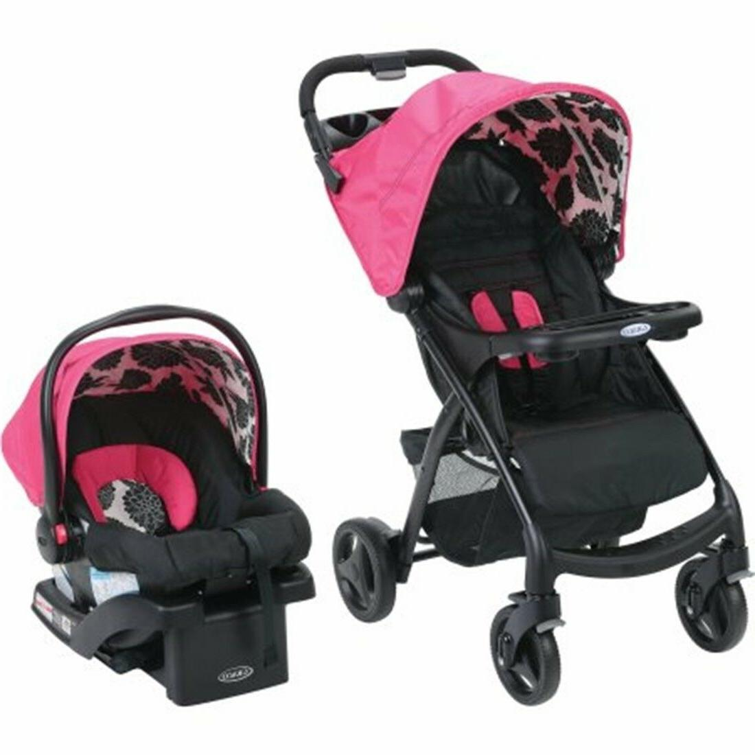 Graco Baby Stroller with Car Seat Infant Playard